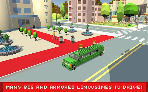 Blocky Security: Hollywood Driver 1.4 Latest MOD Updated 1