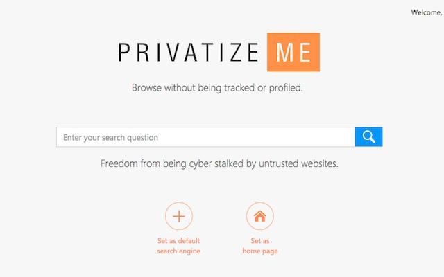 PrivatizeMeSearch