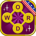 Word Garden word game without internet icon
