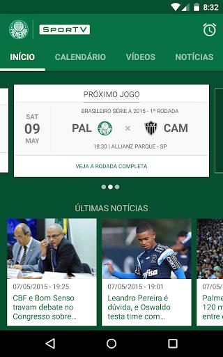 Foto do Palmeiras SporTV