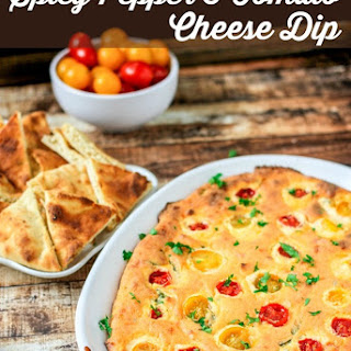 Spicy Pepper & Tomato Cheese Dip