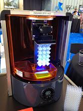 Photo: Reveled the new Autodesk 3D printer Ember at REAL2015 Main Hall