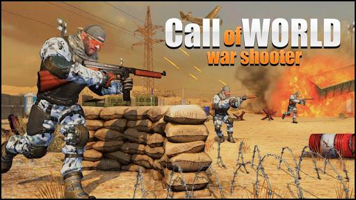 Call of World War Shooter: Free Shooting War Duty Varies with device screenshots 1