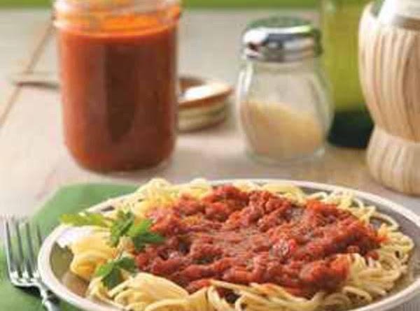 Homemade Spaghetti Sauce Recipe