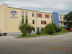 Photo: 19 VIII 2013 roku - ładny, nowy budynek przy ul. Jutrosińskiej