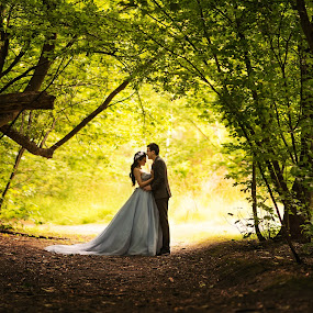 When prince meets princess  by Zhuo Ya - Wedding Bride & Groom ( zhuoya, prewedding, kiwi, wedding, arrowtown, zhuoya photography, new zealand )