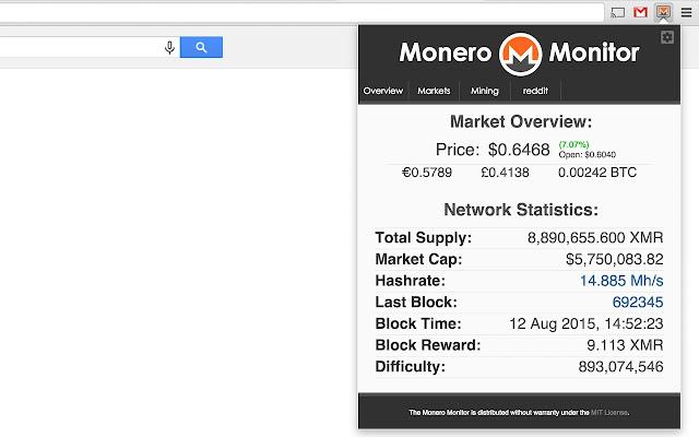 Monero Monitor