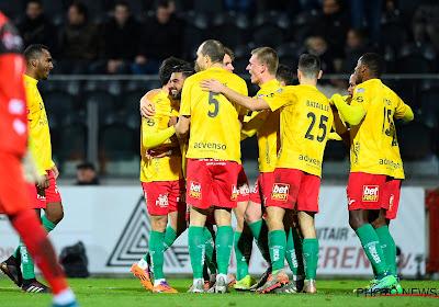 KV Oostende heeft een knappe overwinning geboekt tegen AA Gent