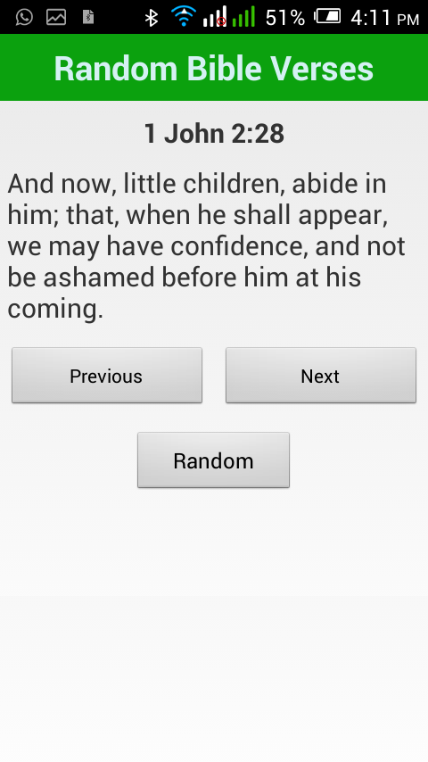 Random Bible Verses- screenshot