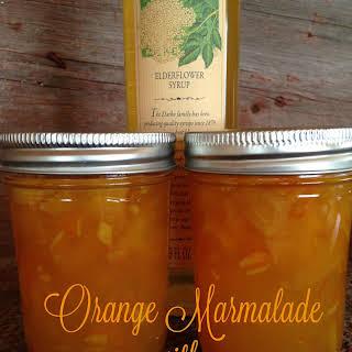 Orange Elderflower Marmalade.