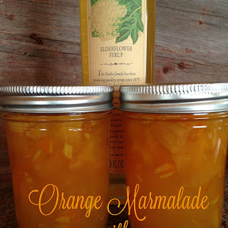 Orange Elderflower Marmalade.