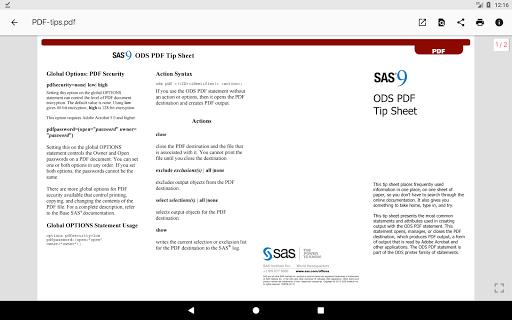 N Docs - Office, Pdf, Text, Markup, Ebook Viewer  screenshots 11