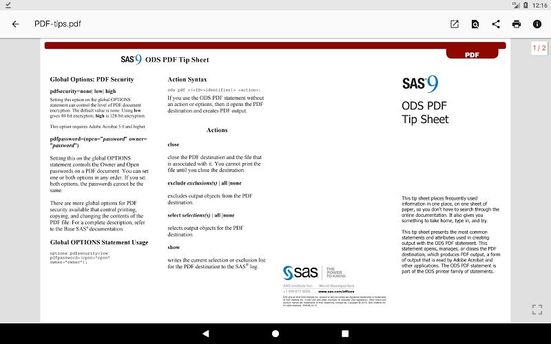N Docs - Office, Pdf, Text, Markup, Ebook Reader Screenshot 11