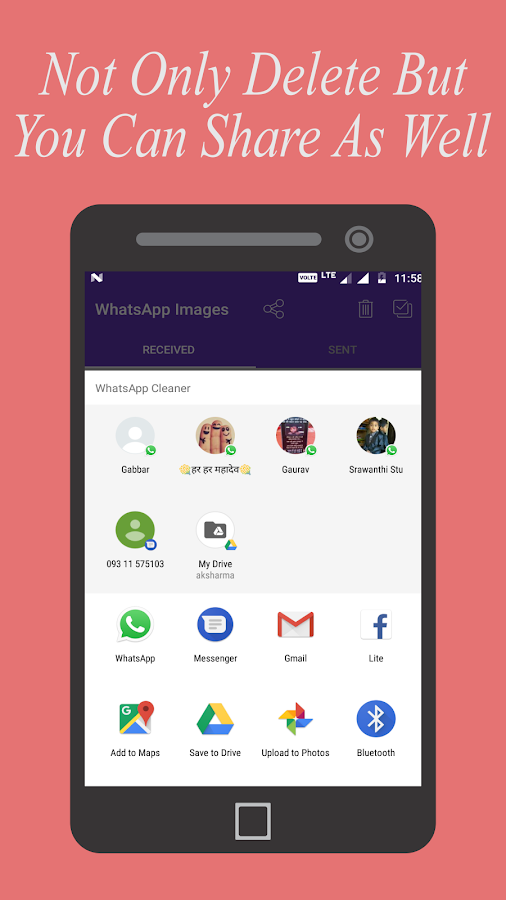 Power Cleaner for WhatsApp- screenshot