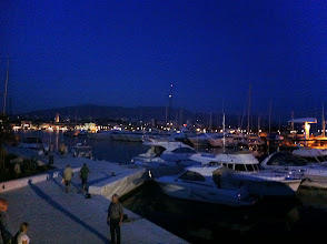 Photo: Split by night