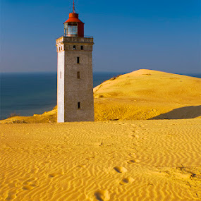 The Stranded Lighthouse by Petru  Maier - Landscapes Travel