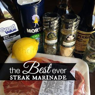 The Best Ever Steak Marinade