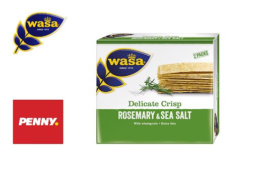 Bild für Cashback-Angebot: Wasa Delicate Thin Rosmarin & Meersalz - Wasa