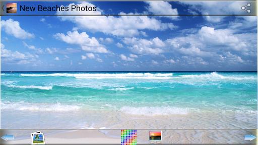 新しいビーチの写真