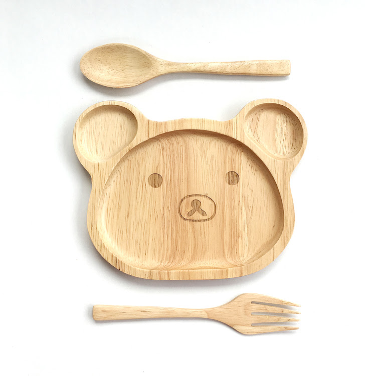 Bear Plate Set by Firstjoy Asia Sdn Bhd