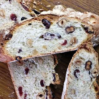 Oat, Cranberry And Hazelnut Bread