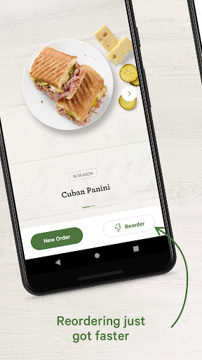 Screenshot for Panera Bread in United States Play Store
