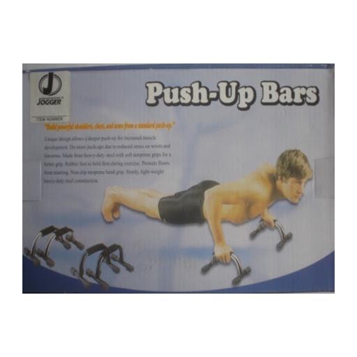 push up bars jogger