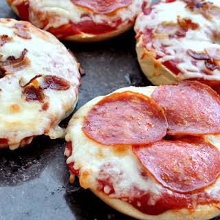 Pizza Bagels.