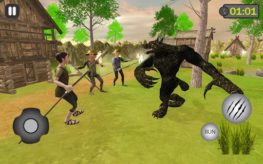 jungle werewolf monster rpg -bigfoot forest hunter android2mod screenshots 3