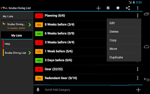 Scuba Diving Planner- screenshot thumbnail