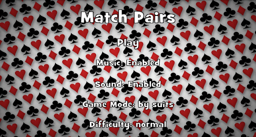 Match Cards Pairs