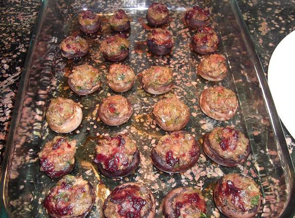 Bacon Jalapeno Stuffed Mushrooms Recipe
