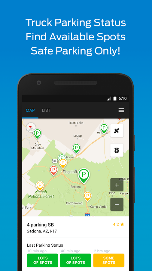 Truck Stop Amp Gps Trucker Path Android Apps On Google Play