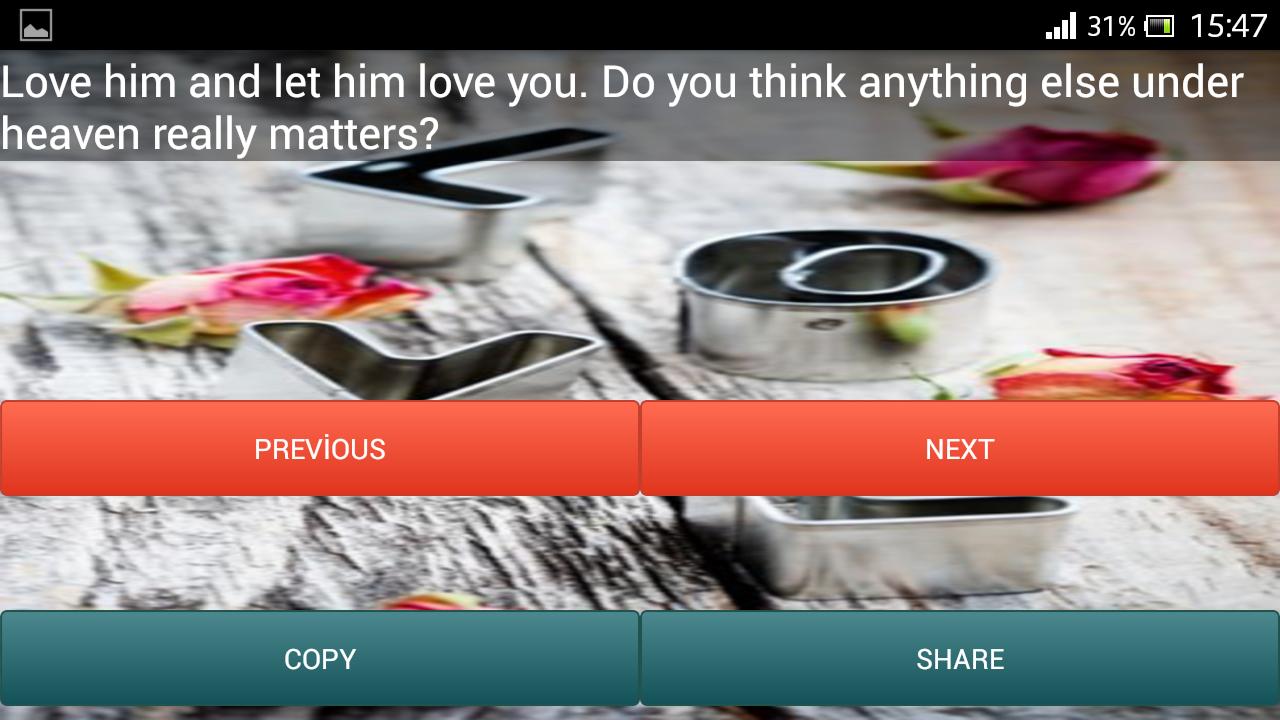 Deep Love Quotes screenshot