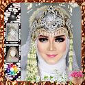 Traditional Wedding Dress Hijab icon