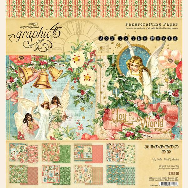 Joy to the World 8x8 Paper Pad