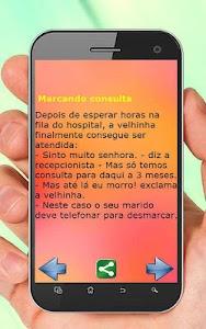 Piadas Curtas Divertidas screenshot 3