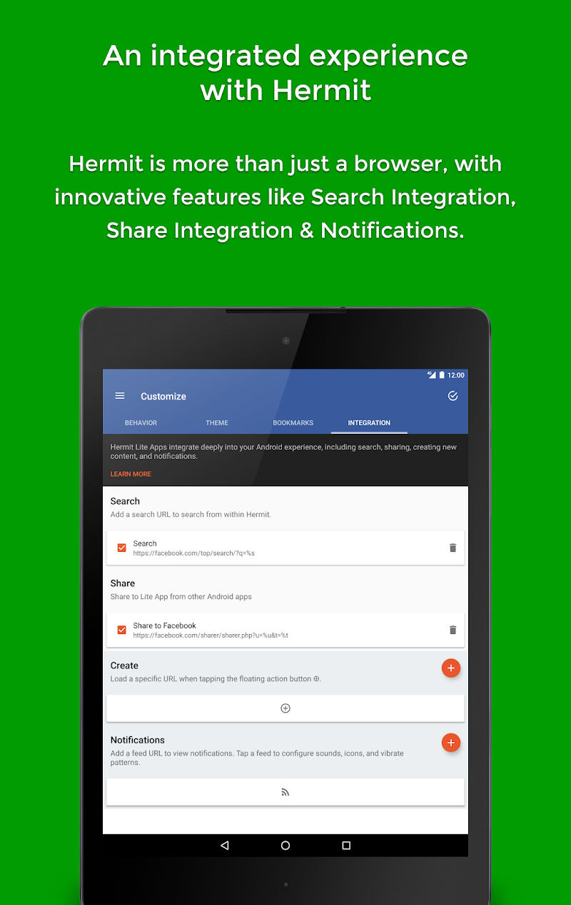 Hermit • Lite Apps Browser Screenshot 12