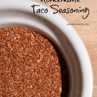 Homemade Taco Seasoning.