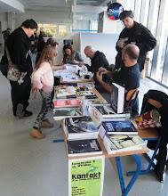 Photo: Kontakt desk at Rikon