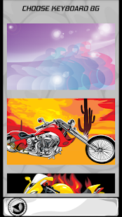 Motocyklové klávesnice - náhled