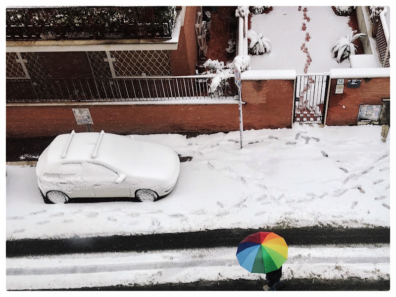 Neve a colori di Romefighter