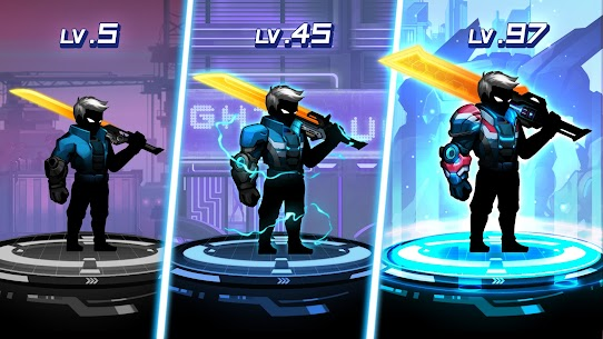 Cyber fighters: shadow legends in cyberpunk city MOD (Purchase) 4