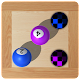 Labyrinth roll balls and holes (game)