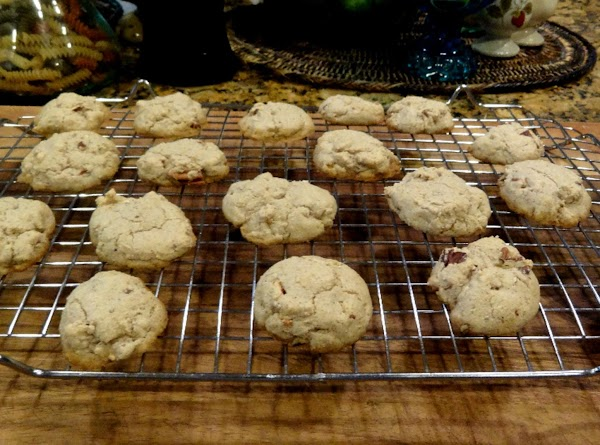 BAKE at 350 for approximately 14 minutes. Remove cookies to wire racks to cool.
