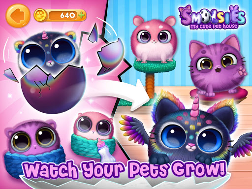 Smolsies - My Cute Pet House android2mod screenshots 9