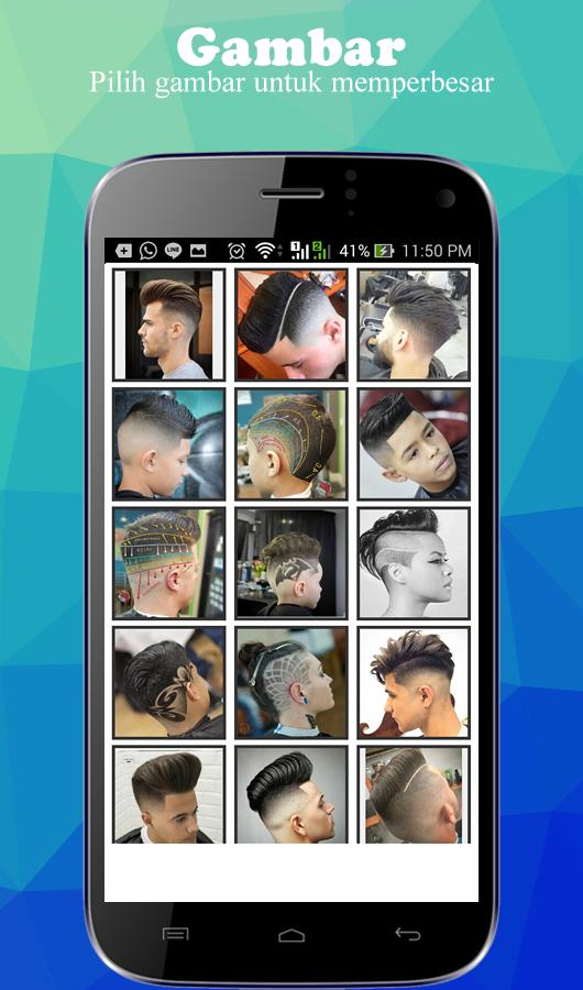 Gaya Rambut Pria Masakini Android Apps On Google Play - Gaya rambut anak perempuan ke sekolah