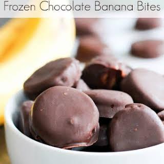 Frozen Chocolate Banana Bites.
