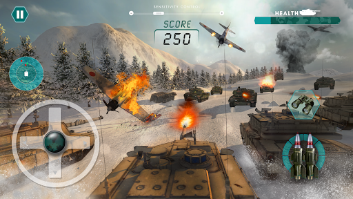 Army Tank games 2020: Offline War Machines Games 1.6.1 screenshots 1