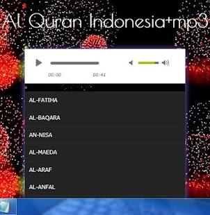 Al Quran Indonesia mp3 - náhled